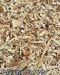 Piso de lascas de madeira