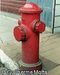 Hidrante em ferro fundido