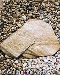 Lajes de pedras soltas
