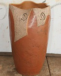 Vaso de argila Garden 60cm
