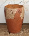 Vaso de argila Garden 50cm