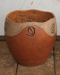 Vaso de argila Garden 35cm