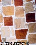Muro com Pedra São Tomé