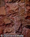 Muro de Pedras Marteladas