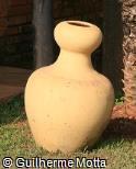 Vaso ornamental de argila
