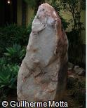 Pedra de cristal escultórico