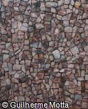 Muro de Pedra rosada Almofadada