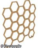 Jardim Vertical hexagonal modular