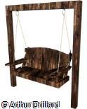 Balanço madeira tipo 1